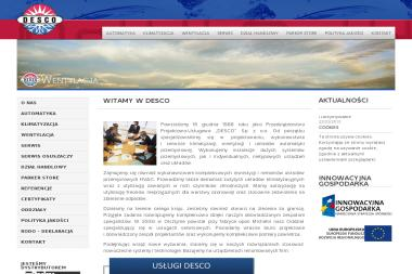 Przedsiębiorstwo Projektowo Usługowe Desco Sp. z o.o. Filia Olsztyn - Klimatyzacja Olsztyn