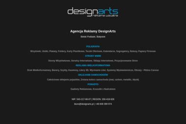 Designarts Damian Andrzejczuk - Agencja marketingowa Bielsk Podlaski