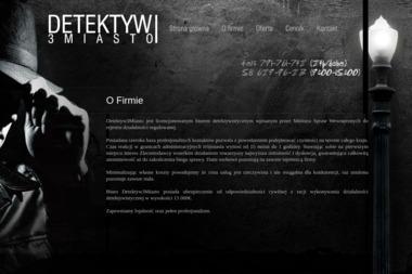 Jerzy Tuz Detektyw3miasto Fotograficzne Biuro Śledcze - Fotografowanie Gdynia