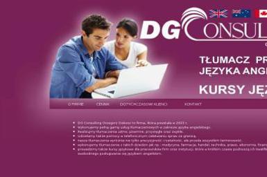 Dg Consulting Grzegorz Dobosz - Szkoła Językowa Polkowice