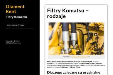 Diament Sp. z o.o. - Maszyny budowlane Szczecin