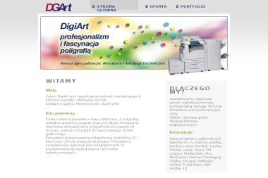 DigiArt. Usługi Poligraficzne - Wizytówki na Zamówienie Milanówek