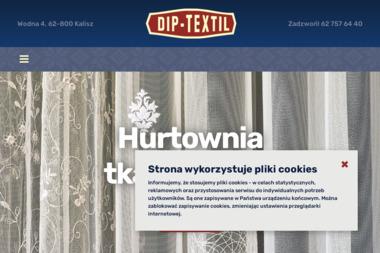 Dip Textil S.J. Dariusz Karbowski, Przemysław Głębowski - Szycie Zasłon Kalisz
