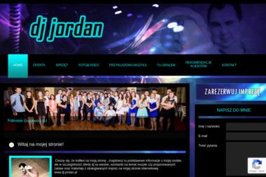 DJ Jordan Tomasz Mazur. Dj na wesela, prezenter - Zespół muzyczny Przemyśl