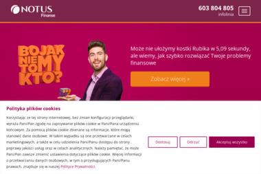 Dom Kredytowy Notus S.A. - Doradcy Finansowi. Doradca finansowy, doradca kredytowy - Kredyt hipoteczny Tarnów