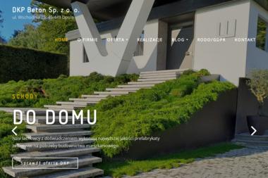 DKP Beton Sp. z o.o. Beton, żelbeton, stalobeton - Schody drewniane Nysa