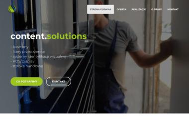 Content Solutions Pp Nowaczyk Filip - Agencja marketingowa Nowy Tomyśl