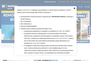 Grupa PSB - Dolmat. Materiały budowlane, artykuły wyposażenia wnętrz - Materiały Budowlane Oleśnica