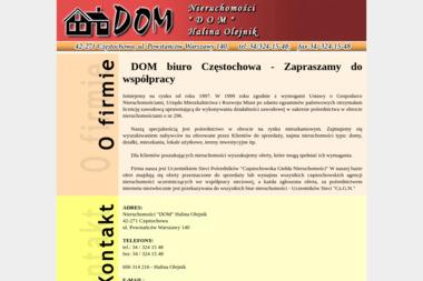 PHU Dom Halina Olejnik - Agencja nieruchomości Częstochowa