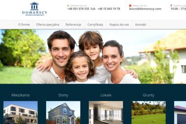 Domańscy Nieruchomości - Agencja nieruchomości Stalowa Wola
