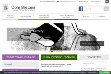 Dom Bretanii - Kurs włoskiego Poznań
