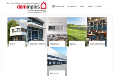 Biuro Pośrednictwa w Obrocie Nieruchomościami-Dominplus - Sprzedaż Nieruchomości Toruń