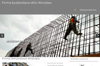 Dox Sp. z o.o. - Kruszenie Betonu Jaworzno