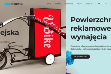 Draft Media Michał Cudowski - Usługi Reklamowe Białystok