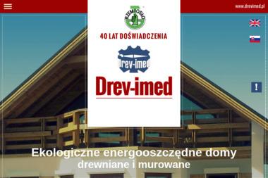 Drev Imed - domy z drewna - Schody metalowe Rychwałd