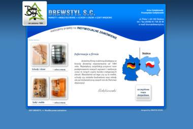 Drewstyl S.C. Artur Go艂臋biowski Przemys艂aw Go艂臋biowski - Schody drewniane S艂ubice