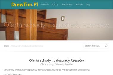 FHU Drew Tim - Schody Drewniane Zgłobień