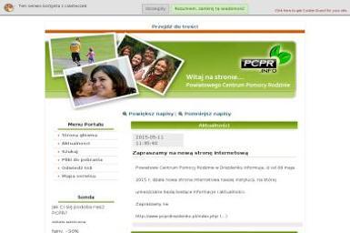 Powiatowe Centrum Pomocy Rodzinie - Pomoc w Domu Drezdenko