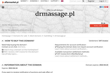 Dr Massage-Gabinet masażu - Salon Masażu Gdańsk
