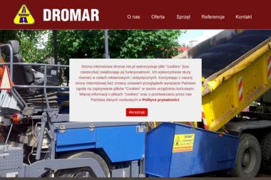 Dromar L.R.Bożek. Budowa dróg, remonty, brukarstwo - Roboty Ziemne Ostrowiec Świętokrzyski