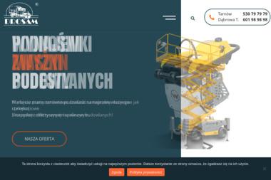 Firma Drosam. Wypożyczalnia koparek, kruszenie - Wyburzenia Tarnów