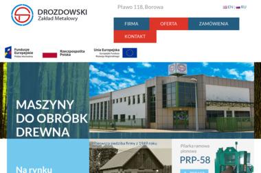 Zakład Metalowy - Drozdowski Stefan - Skład Drewna Pławo