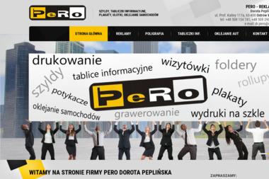 Pero-Plus. Roman Pepliński - Usługi Poligraficzne Ostrów Wielkopolski