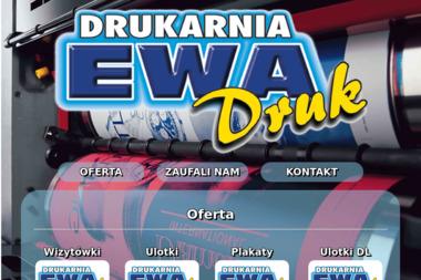 Drukarnia Ewa-Druk. Druk cyfrowy, offset i oprawa prac - Drukarnia Wejherowo