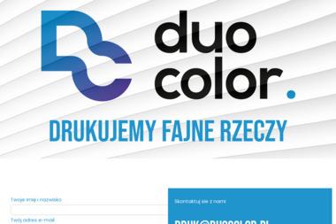 Duocolor. Agencja Reklamy - Wizytówki na Zamówienie Katowice