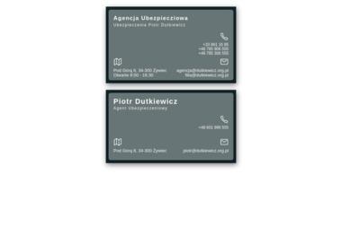 Ubezpieczenia. Piotr Dutkiewicz - Ubezpieczenia Żywiec