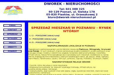 Dworek Nieruchomości Jerzy Serwiński - Sprzedaż Nieruchomości Piastów