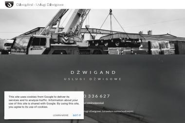 Dźwigand Jarosław Andrzejewski - Wynajem Koparko-ładowarki Pruszków