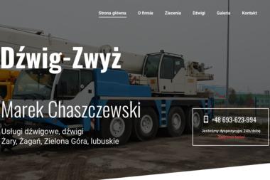 Usługi Dźwigowe. Iwona Chaszczewska - Wynajem Koparko-ładowarki Żary