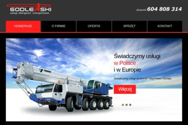 Usługi Dźwigowo-Transportowe Zenon Godlewski - Firmy inżynieryjne Ostróda
