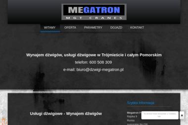 Usługi Dźwigowe MEGATRON - Wynajem Rusztowania Rumia