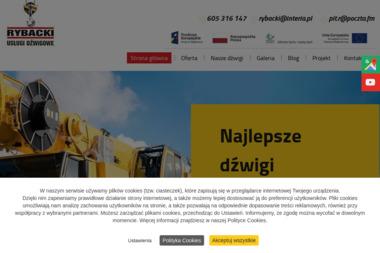 Usługi Dźwigowe Piotr Rybacki - Maszyny budowlane Wólka Majdańska