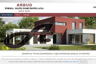 Arbud Adam Raba - Roboty ziemne Szczawin