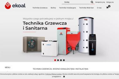 FHU Ekoal Robert Poński. Technika instalacyjna, technika grzewcza, technika wod-kan - Kotły Gazowe Kielce