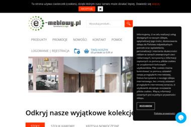 E-Meblowy Anna Przybycień. Meble, meble na zamówienie - Meble Kuchenne Piotrków Trybunalski