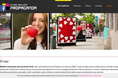 Marta Nizińska Przedsiębiorstwo Usługowo Handlowe Studio Reklamy Propaganda - Firma Marketingowa Przysucha