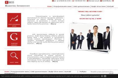 E Seo Marketing Internetowy Tomasz Janiec - Agencja marketingowa Tarnobrzeg