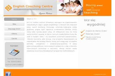 English Coaching Centre Szymon Pietrusa - Szkolenia Marcówka