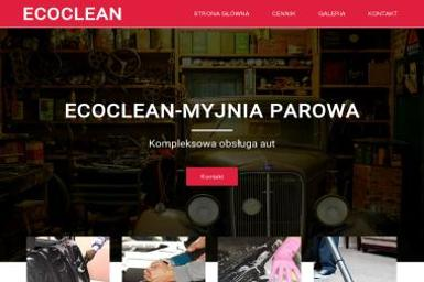 EcoClean Mobilna Myjnia Parowa - Wyposażenie wnętrz Tczew