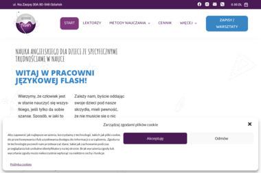 FLASH Pracownia Językowa & Centrum języka angielskiego dla dyslektykow - Kursy Języków Obcych Gdańsk