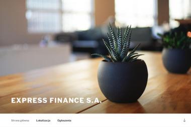 Express Finance S.A. - Kredyt hipoteczny Zawiercie
