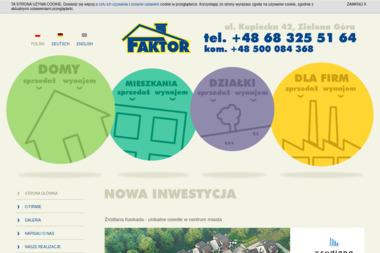 Centrum Obrotu Nieruchomościami Faktor - Agencja nieruchomości Zielona Góra