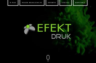 Efekt Studio Sp. z o.o. Studio reklamy, reklama wielkoformatowa - Agencja marketingowa Sokołów Podlaski