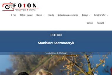 Foton. Stanisław Kaczmarczyk - Kamerzysta Ostrołęka