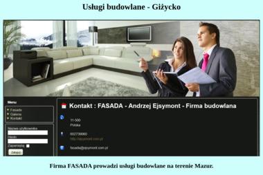 Andrzej Ejsymont Przedsiębiorstwo Usługowo Handlowe Fasada - Wyburzenia Giżycko