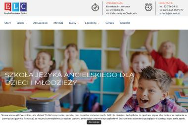 English Language Centre Holiday Study Tours - Język Angielski Konstancin-Jeziorna